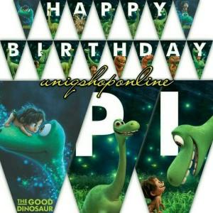 Custom / Personalized bunting flag arlo the good dinosaur dinosaurus