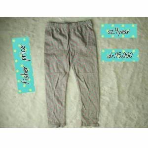 legging anak branded original kids fisher price