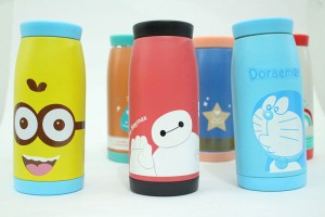 Stainless tumbler animal / botol minum thermos karakter termos cooler