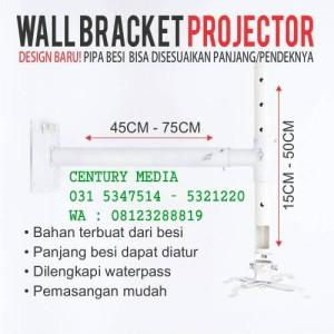 Bracket Projector Dinding / Wall Bracket Projector Murah Surabaya
