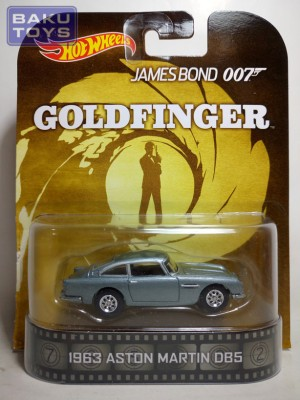 Hot Wheels Retro 1963 Aston Martin DBS Goldfinger