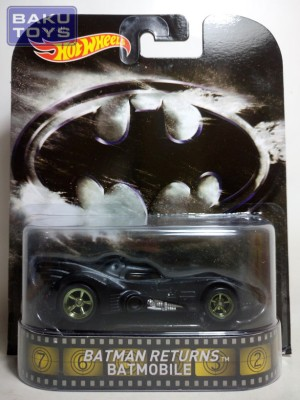 Hot Wheels Retro Batman Returns Batmobile