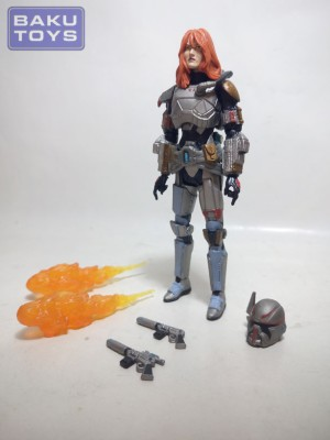 Star Wars 3.75 The Old Republic Bounty Hunter Shae Vizla TVC