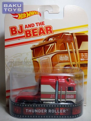 Hot Wheels Retro Thunder Roller BJ and The Bear