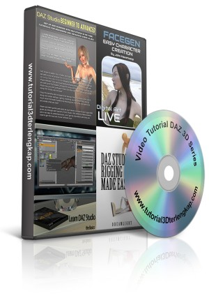 Video Tutorial DAZ 3D Special Series