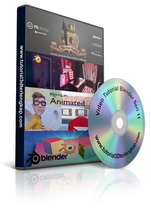 Video Tutorial Blender 3D Animation Seri 11
