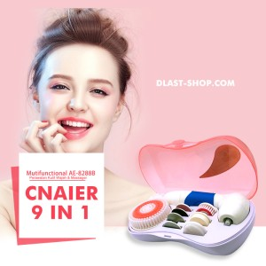 CNAIER facial cleansing massage 9 in 1 face beauty Multifungtion