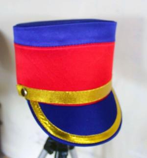 Topi pasukan / Drumband / Marchingband ? biru putih