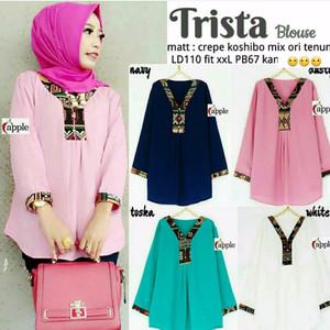 Trista Blouse/ Pakaian Muslim Wanita/ Acara Resmi/