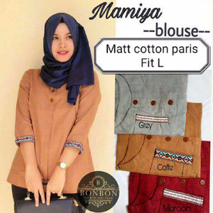 Mamia Blouse/ Baju Muslim Atasan Perempuan/ Bagus/ Terbaru