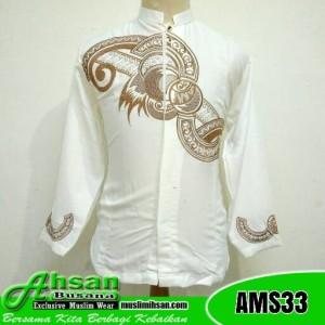 Bamus Tasik Keren AMS33 Putih