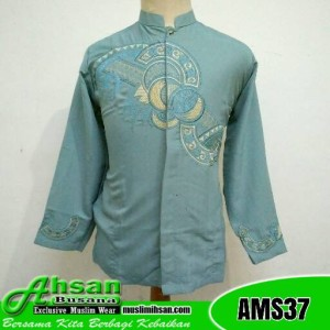 Koko Al Ihsan Cakep AMS37 Biru