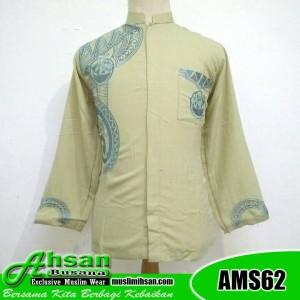 Koko Al Muttaqin Premium AMS62 Kuning