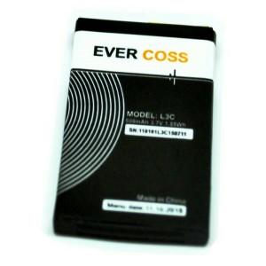 baterai battery baterai evercoss l3c original