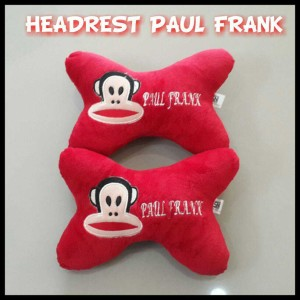 Bantal Headrest - Paul Frank