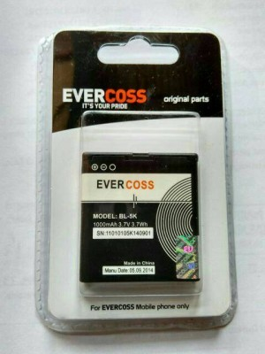 baterai battery batre evercoss bl-5k original