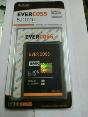 baterai battery baterai evercoss a66b original