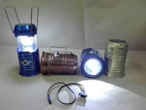 LED Solar Camping Lamp