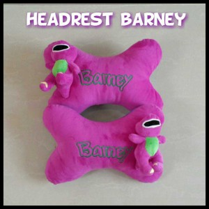 Bantal Headrest - Barney