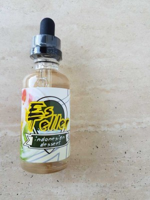 LIQUID ES TELER KEMASAN 60 ML 3MG