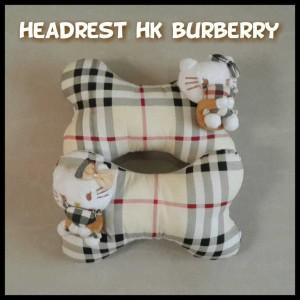 Bantal Headrest - Hello Kitty Burberry