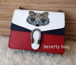 READY jual tas Gucci Dionysus Cat LEATHER MIRROR - 3 tone
