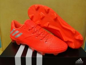 Sepatu Bola / Soccer Adidas Messi 16.1 Shocking Orange - FG