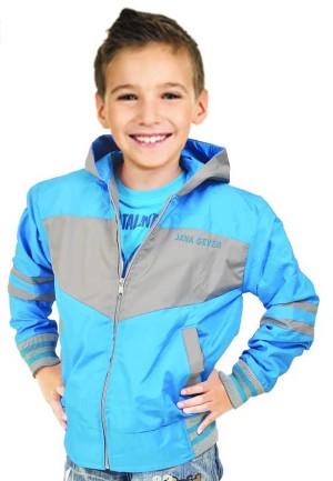 JAVA SEVEN Dominic SKR 003 Sweater Anak Laki-laki - Biru Kombinasi