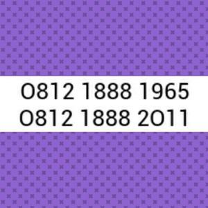 Nomor Cantik Simpati Seri Tahun 1965 & 2011 Hoki, Rapih # Sel 581