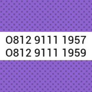 Nomor Cantik Simpati Seri Tahun 1957 & 1959 Hoki, Rapih # Sel 590