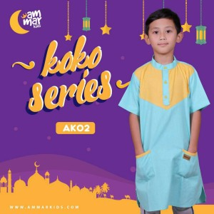 Ammar Kids | Baju Koko Anak Laki-Laki - AK 02