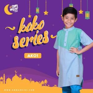 Ammar Kids   Baju Koko Anak Laki-Laki - AK 01