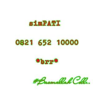 Nomor Cantik Simpati 10000 Seri Kuartet 0000 Rapi 0821 652 10000 #CS6