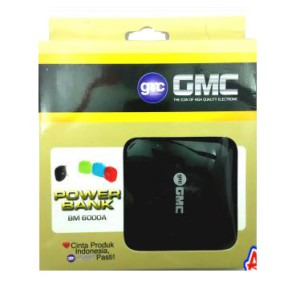 power bank GMC 6000MAH