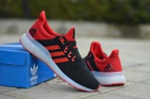 Sepatu Adidas Best Hot Promo Trust OLYMPIC 3D MEN RED BLUE GREY KASUAL