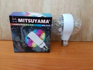 Lampu Disco LED Dua Sisi / Disko 2 Sisi Bolak Balik Mitsuyama MS-352