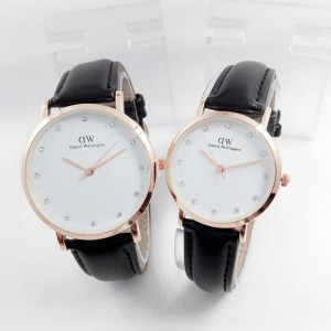JAM TANGAN DW 2128 COUPLE MURAH