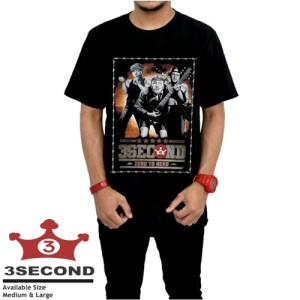 T-shirt / Kaos Distro 3Second A.0593