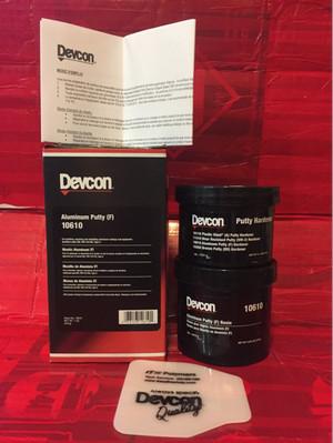 Devcon aluminum putty/devcon f/devcon 10610
