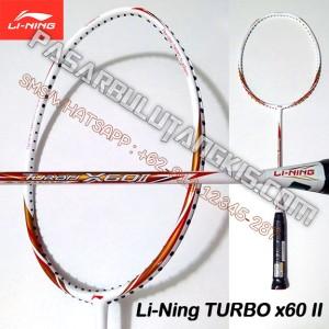 Raket Li-Ning Turbo x60 II (Batangan)