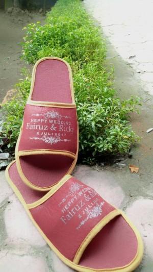 promo gila ! sandal free sablon 4mm cuman 2.800
