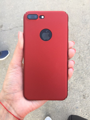 Baby Skin Case for iPhone 7 Plus - Red