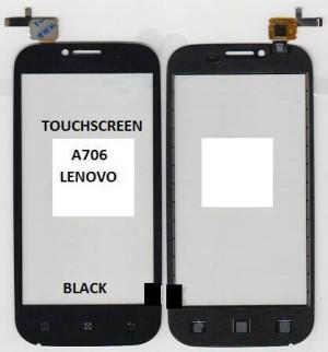 TOUCHACREEN A706 LENOVO BLACK