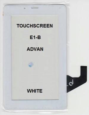TOUCHSCREEN ADVAN E1B BLACK / WHITE