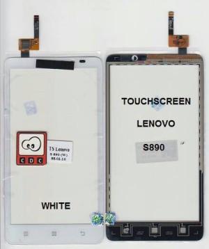 TOUCHSCREEN LENOVO S890 BLACK / WHITE