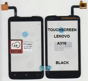TOUCHSCREEN LENOVO A316 BLACK