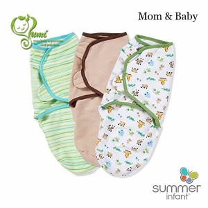 Summer Infant Swaddle Me Original Swaddle 3-PK - Mom & Baby