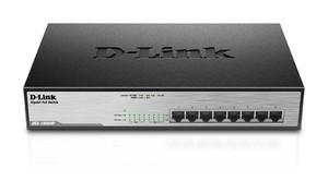 Switch D-Link / Dlink 8 Port Unmanaged Gigabit with PoE DGS-1008MP