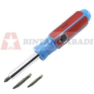 Tora Obeng 8 In 1 Gagang Plastik / Screwdriver PVC - TR SD801