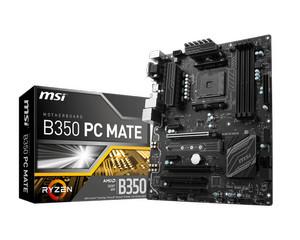 Motherboard MSI B350 PC MATE (Socket AM4 DDR4)
